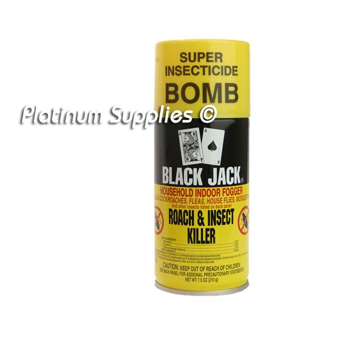 Blackjack fly and mosquito spray